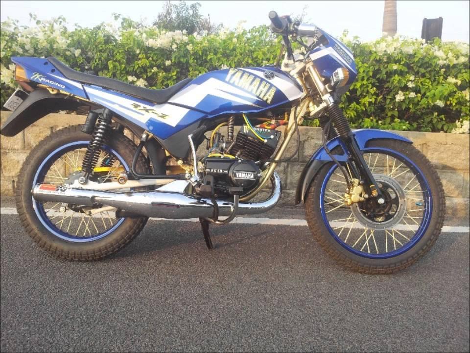 Yamaha Rxz Modified