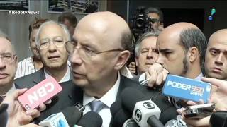 """""""Empresários querem Meirelles na eleição indireta"""", diz Boris Casoy."""
