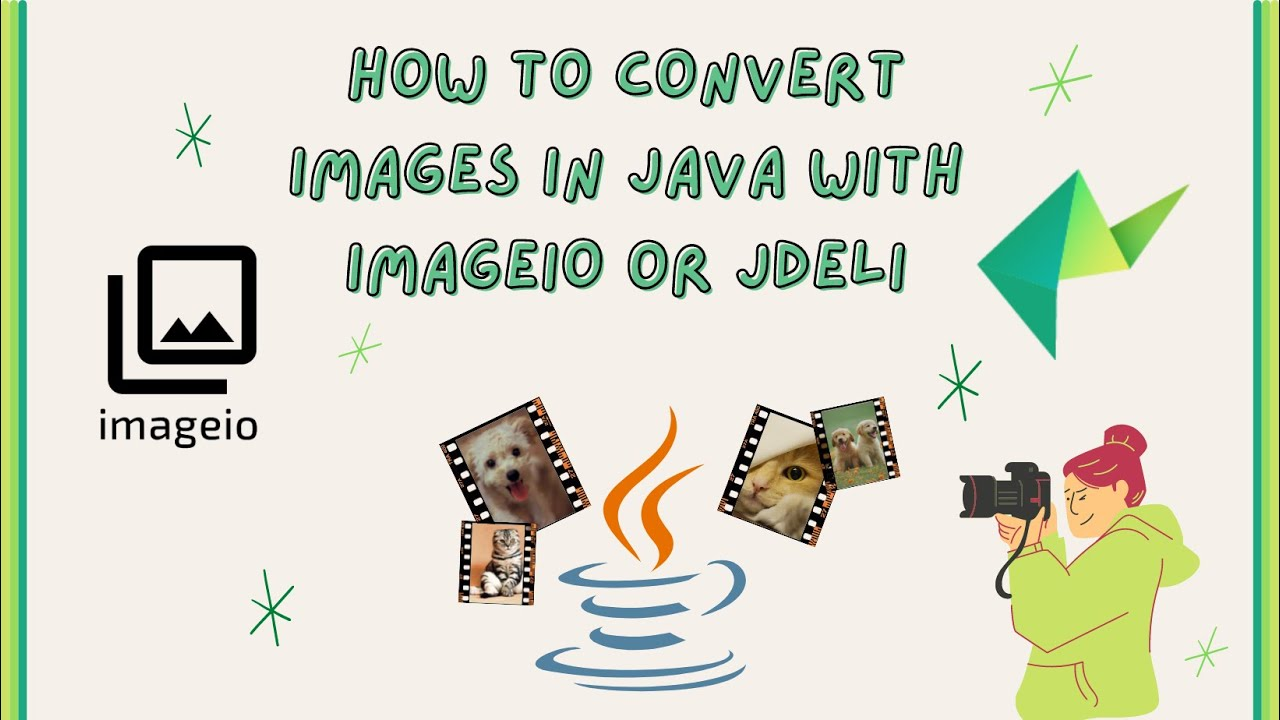How to read and write images in Java