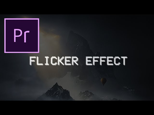 Adobe Premiere Pro CC Tutorial: Flicker Transition Effect
