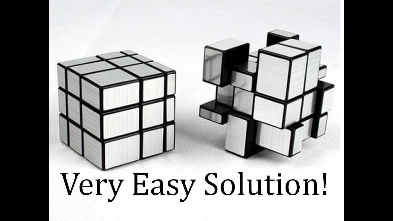 Mirror Cube Easiest Solution On Youtube Mirrorcube Aluminium Cube Youtube