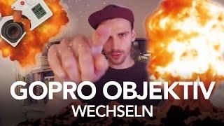 GoPro 3 Objektiv wechseln - Heimwerkerking Fynn Kliemann