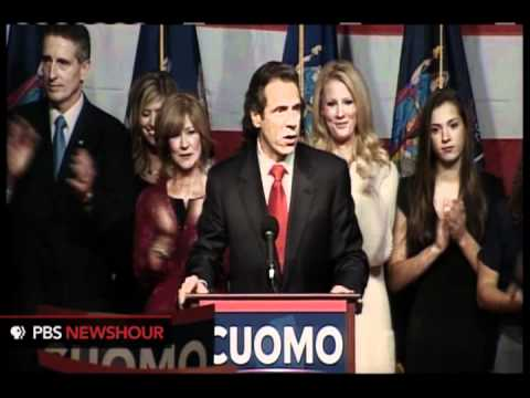 Andrew Cuomo Elected NY Governor