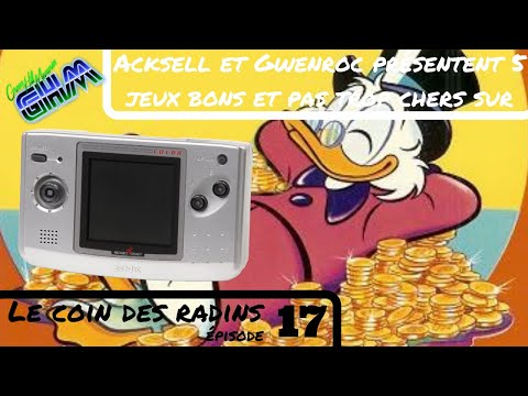 [LeCoinDesRadins #017] 5 (presque) jeux bons et pas (encore) trop chers sur Neo Geo Pocket !