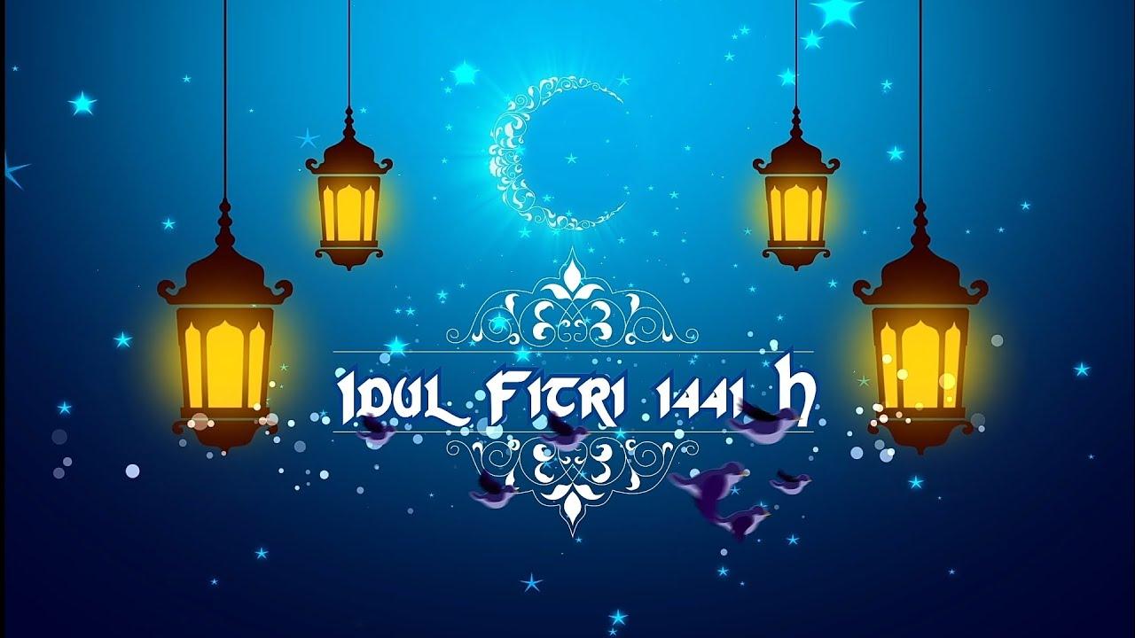 Free Template Ucapan Idul Fitri 2020/ 1441 H/ Story WA dan IG