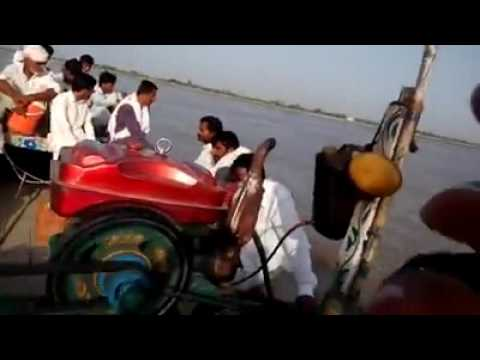 River Trip on River Sindh in Pakistan