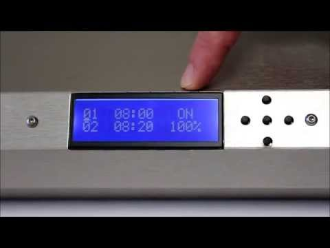 ATI Dimmable SunPower - How to Program the Controller