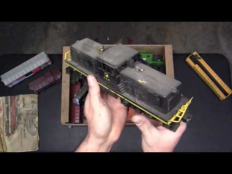 Lionel Trains 1950's Unboxing! Garage Find!