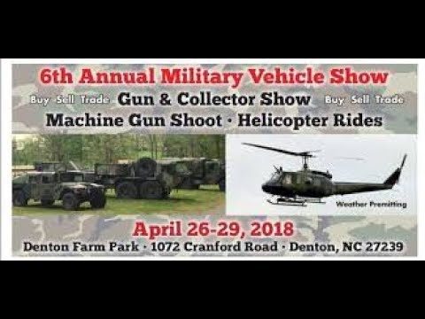Denton Farm Park Military Vehicle and Gun Show