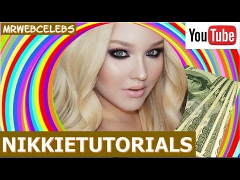 How Much Money Does Nikkietutorials Make On Youtube 2016