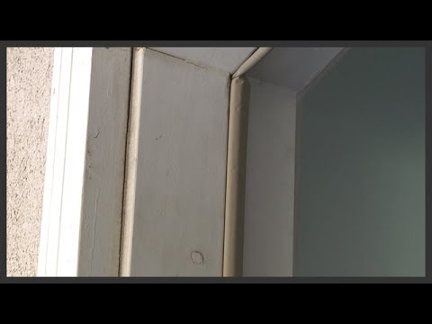 External door weather stripping replacement & External door weather stripping replacement - YouTube