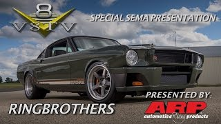 Ringbrothers Carbon Fiber Mustang and New Parts SEMA 2015 Video V8TV