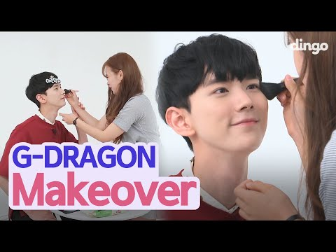 My Boyfriend Does G-Dragon Makeover  • ENG SUB • Dingo Kbeauty
