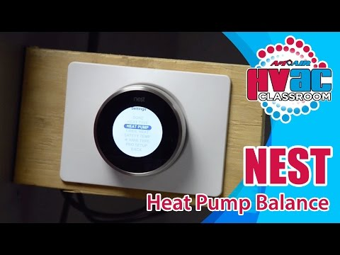 Understanding And Wiring Heat Pump Thermostats With Aux