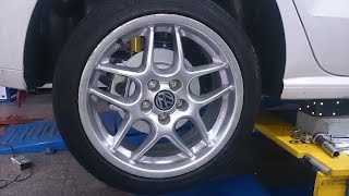 VW Polo 6C 2014 On Rear Drum To Disc Brake Kit Installation Guide