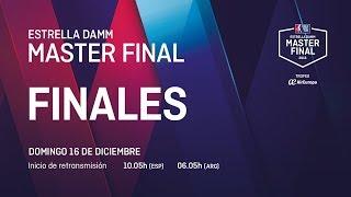 Finales - Estrella Damm Master Final 2018