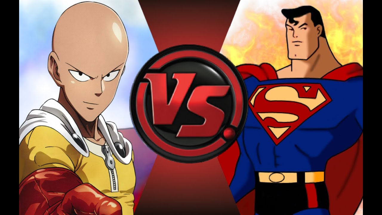 ONE PUNCH MAN Vs SUPERMAN Cartoon Fight Club Episode 39