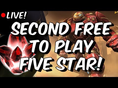 Second Five Star Crystal Opening + MASSIVE Act 5 End Opening - Marvel Contest Of Champions
