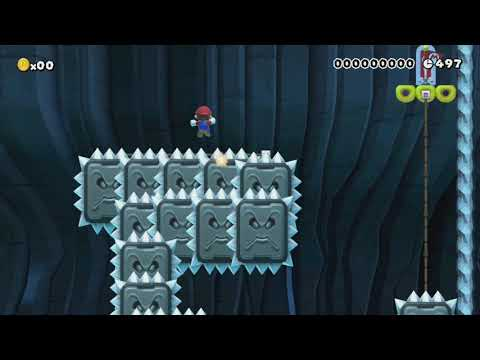 Fun with Thwomp by Sady - Super Mario Maker - No Commentary