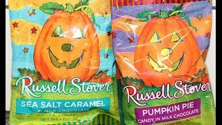 Russell Stover: Sea Salt Caramel & Pumpkin Pie Milk Chocolate Review