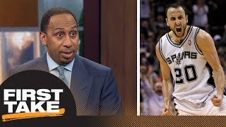 Stephen A.: 'No question' Manu Ginobili is a Hall of Famer | First Take | ESPN