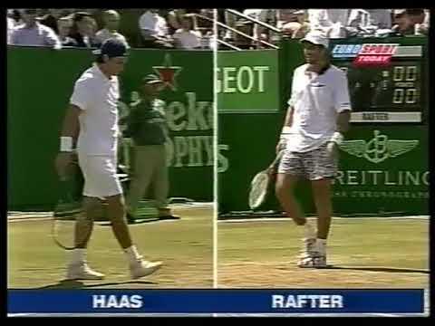 Haas vs Rafter (Rosmalen 1999) semifinal