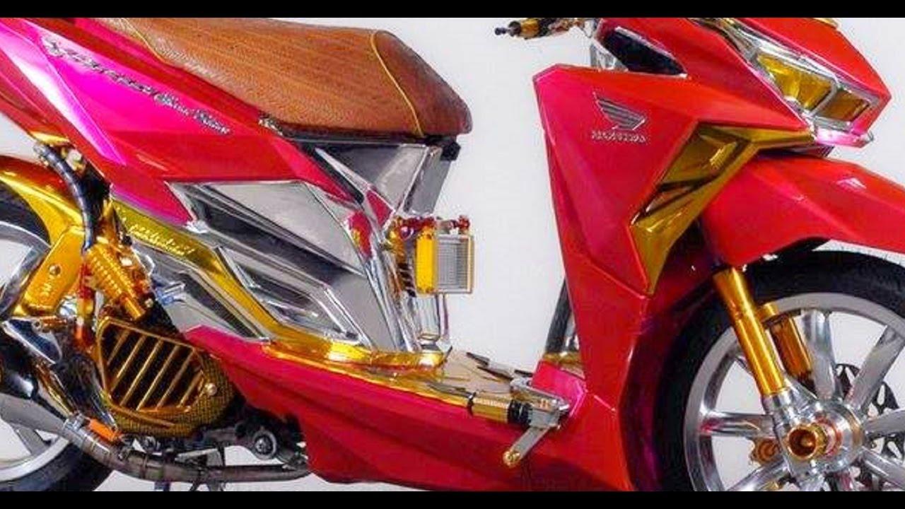 Ide Aksesoris Modifikasi Motor Vario 150 Terbaik Rendang Modifikasi