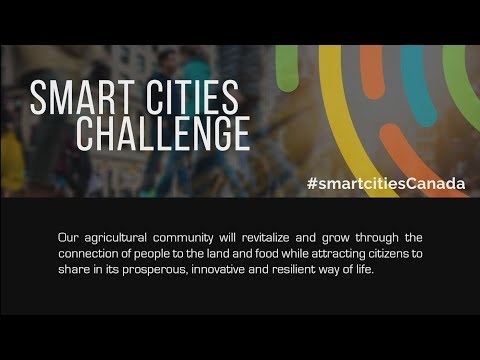 #SmartcitiesCanada Finalists - Revitalizing our Agricultural Community with Technology