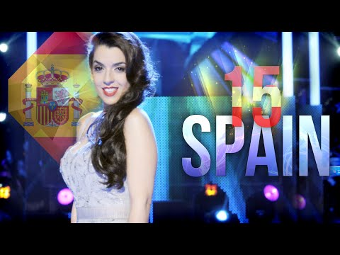 Los 15 mejores candidatos de España en Eurovision The 15 bests candidates of Spain in Eurovision