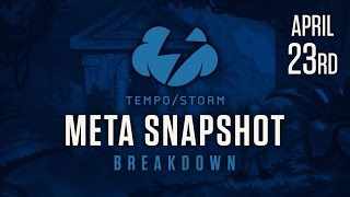 Hearthstone Meta Snapshot Breakdown: April 23, 2017