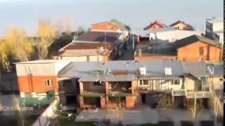 Война видео Украина Донбас  АТО Чеченский батальон имени Шейха Мансура ведет бой в Широкино   YouTub