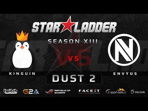 Team Kinguin vs EnVyUs - Map 1 - Dust 2 (StarSeries XIII)