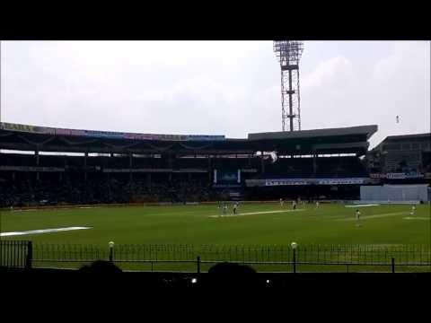 Full View Of Bengaluru Chinnaswamy Stadium Cricket Bangalore B LOWER STAND RCB Home  Ground