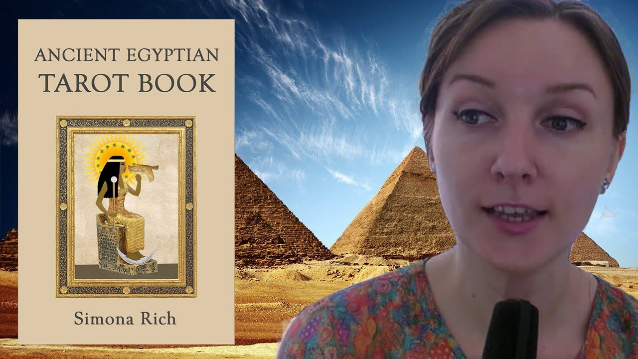 Ancient Egyptian Tarot Book is Released!