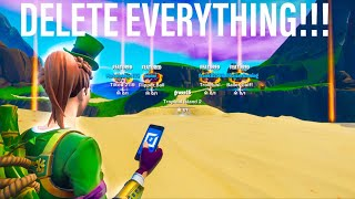 Supprimer ENTIRE CREATIVE HUB à l'aide de CE GLITCH!!! Fortnite Creative Saison 8 8.30 XBOX/PS4/PC/SWITCH
