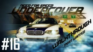 Need for Speed: Undercover (PC) | Walkthrough Part 16 - Most Wanted [HD 60FPS]