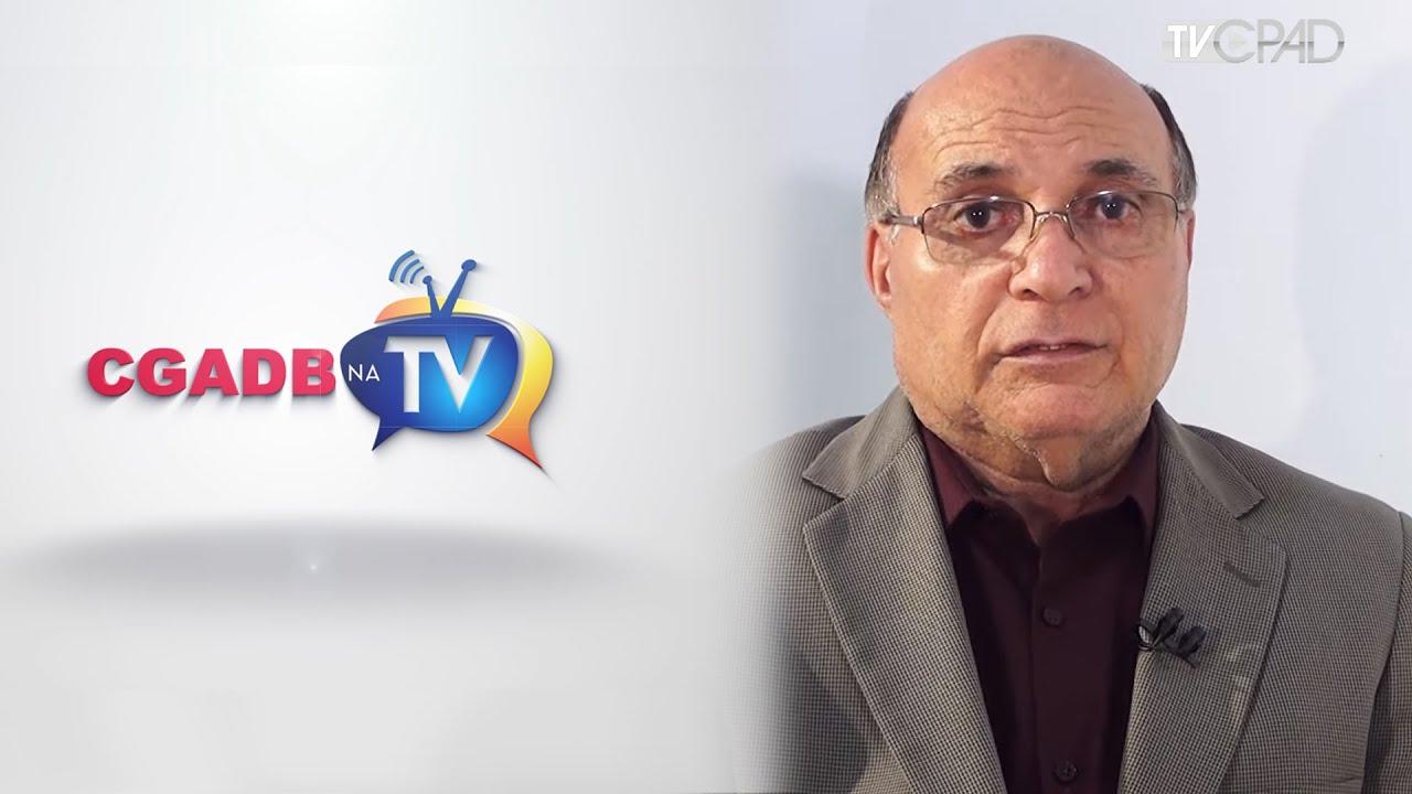 CGADB na TV PGM 39 - Entrevista com o Pr Rinaldo Alves dos Santos ...