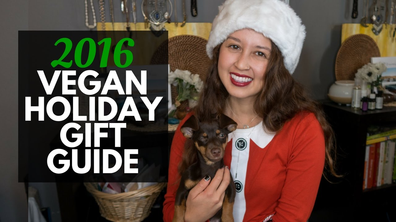 2016 Vegan Holiday Gift Guide + Giveaways! | VLOGMAS Day 1