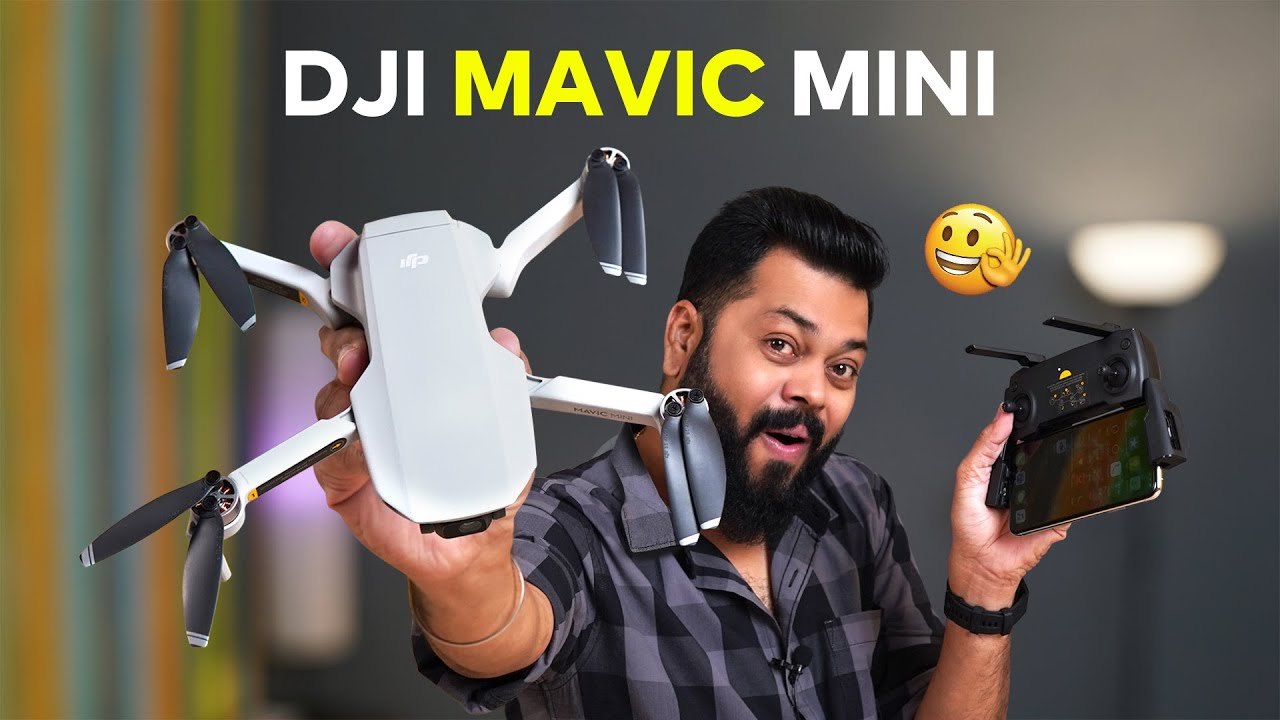 DJI MAVIC MINI India Unboxing y primeras impresiones ⚡⚡⚡ ¡Grandes filmaciones aéreas con bajo presupuesto! + vídeo
