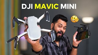 DJI MAVIC MINI India Unboxing & First Impressions ⚡⚡⚡ Great Aerial Footages on Budget!!