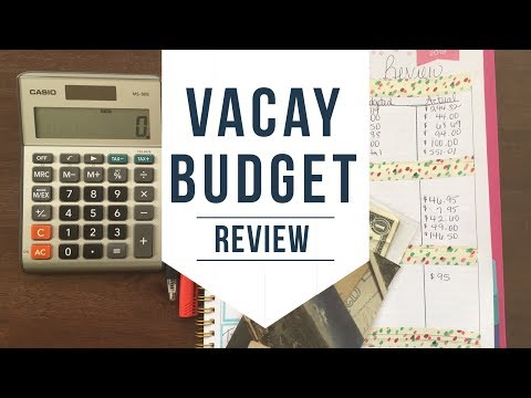 Budget With Me | Vacation Review | Why Not Budget