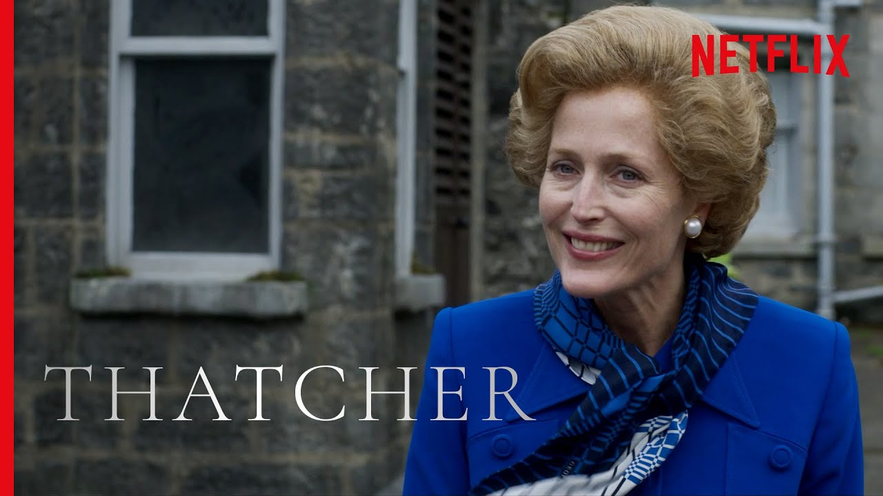 Best of Gillian Anderson as Margaret Thatcher | The Crown