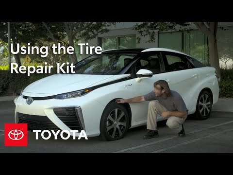 Toyota How-To: Prius and Mirai Tire Repair Kit | Toyota