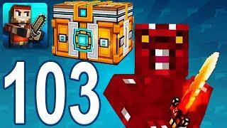 Pixel Gun 3D - Gameplay Walkthrough Part 103 - Super Lottery, Fire Demon (iOS, Android)
