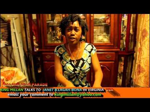 KING MILLAN  SLBC SALONE STAR PARADE WITH JANET B LAGAH BONE IN VIRGINIA USA PT 1