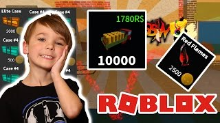 Spending 10000 Tokens in Roblox Assassin !!! Opening New Cases & Buying Knife Effect
