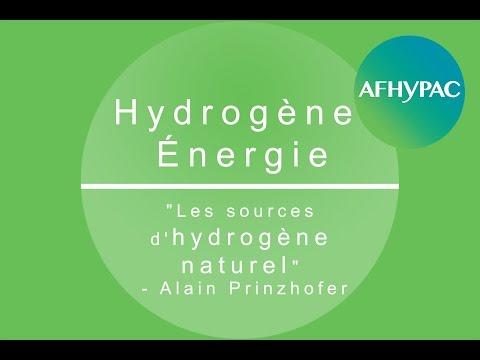 """Hydrogène Energie :  """"Les sources d'hydrogène naturel"""" - Alain Prinzhofer"""