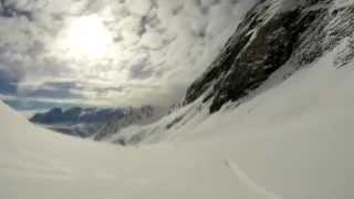 Skiing Grand Sablat, Alpe d