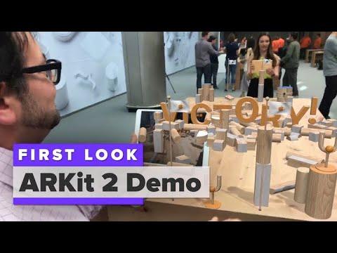 .ARKit 2 眼動追蹤,人機交互新模式