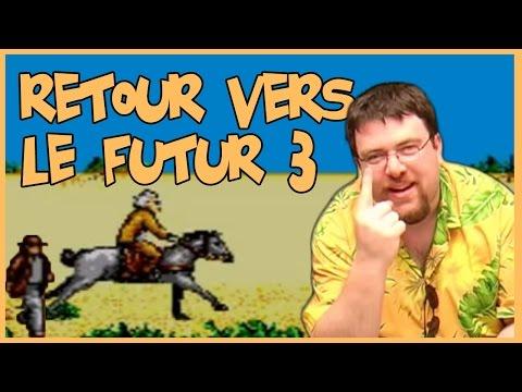 Joueur du grenier - Retour vers le futur III - Master system poster